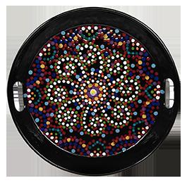 Reno Mosaic Mandala Tray